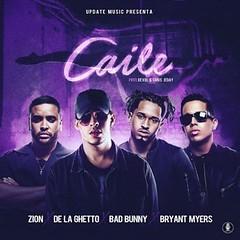 """A solo días para el lanzamiento de """"Caile"""" de Zion, De La Ghetto, Bryant Myers y Bad Bunny (http://www.labluestar.com) Tags: """" asolodías badbunny bryantmyers caile de delaghetto el lanzamiento para zion"""