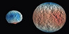 Ice on Vesta and Ceres (sjrankin) Tags: 23december2016 edited pia21081 dawn ceres vesta ice waterice visualization asteroid protoplanet primage