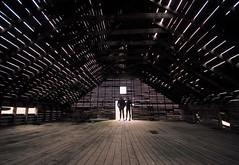 lofty ambitions (RhinoSkin) Tags: hay loft barn roof brad jasmin