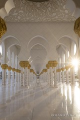 Abu Dhabi - Sheikh Zayed Grand Mosque (Rolandito.) Tags: uae vae united arab emirates vereinigte arabische emirate abu dhabi sheikh scheich zayed grand mosque moschee