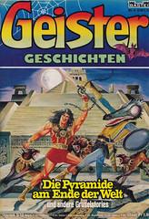 Geister-Geschichten 5 (micky the pixel) Tags: comics comic horror heft basteiverlag geistergeschichten manos dämonenjäger monster demon dämon pyramide