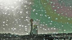 Texas Weather (Photosintheattic (Devy)) Tags: texas weather snow sun rain dallas dallastx flickr skyscape rainbow effects photoefects buildings traffic cars vehicles bridges downtowndallas uptowndallas sleet hail forcast storm photoeffects sunshine drizzle