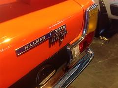 Hillman Avenger Tiger (1973) (andreboeni) Tags: classic car automobile cars automobiles voitures autos automobili retro classique voiture auto oldtimer klassik classico classica hillman avenger tiger badge script detail