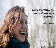 quote-liveintentionally-dont-cry-because-its-over (pdstein007) Tags: quote inspiration inspirationalquote carpediem liveintentionally
