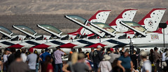 Thunderbirds at nellis (Nick Collins Photography, Thanks for 2.1 million v) Tags: f16c fighting falcon thunderbirds aircraft airshow aviation flying military nellis nevada usaf usa las vegas canon 7dmk2 500mm