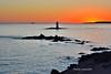 DSC_1888 (paolacincotti) Tags: tramonto tramonti sea calasetta sardegna italia italy rocce scogliera scogliere