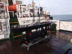 Lyra Waveglider (cefasphotos) Tags: waves waveglider lyra innovative monitoring wave sample sampler sampling pilot ship vessel reserach science cefas liquid robotics robot