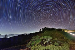 Star trails at Mountai Hehuam  (Vincent_Ting) Tags:    sunset   clouds  sky    taiwan formosa    flare    star startrails trails  night  crepuscularrays glow mountain moonlight     milkyway galaxy  sunrise   hthehuan     vincentting mountainhehuan seaofclouds