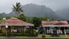 Hanalei in the rain (thenewamtrak) Tags: kauai hanalei rain paradise