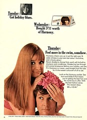 Harmony Haircare by Elida (jerkingchicken) Tags: vintagebritishad haircareproduct hairdye