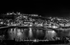 Whitby by night (jameshowardphotography) Tags: whitby water white dark darkness night nikon lights long exposure yorkshire north northyorkshire northeast northern lifeboat abbey sea sky seascape
