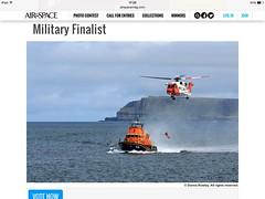 Finalist - please vote. (Donna Rowley) Tags: rnli boat rescue helicopter coastguard irishcoastguard winch landscape sea ireland irish portrush airwavesportrushairshow competition vote finalist winner
