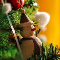 Noël (vinz.c) Tags: noel winter sapin bonhommedeneige