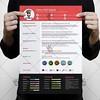 Color Resume – Free PSD Template (psdmarket) Tags: business clean creative cv editable freepsd ob modern professional psd resume simple stationary psdtemplate