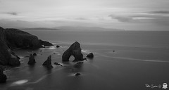 Breeches Sea Arch (Szabo Peter) Tags: ireland sea seascape canon mono long exposure arch angle wide ultra 1022mm donegal szabo breeches magyarok 550d nd1000