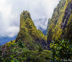 Iao Valley Needle (Ryan O. Hung) Tags: park vacation panorama canon hawaii state maui needle iao valley 70200 stitched 6d