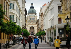 (elinor04 thanks for 25,000,000+ views!) Tags: street city autumn building architecture buildings basilica budapest style inner eclectic neoclassical ststephensbasilica