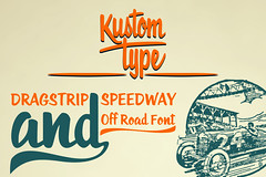 Roadstar Font (#Artwerk #Kustomtype) Tags: new red usa black color green car fashion race vintage cool artwork graphics power handmade awesome visit retro hotrod labels americana swirls drawn psd fonts vector ai typeface handlettering handdrawn lemmy swashes creativemarket wallpaperdesign