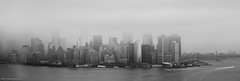 Day 101 (Wouter de Bruijn) Tags: above nyc blackandwhite bw ny newyork architecture flying manhattan air flight helicopter 101 eastriver fujifilm hudson 365 xt1 fujinonxf35mmf14r