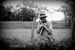 69/2014 (Mihai-ela) Tags: people bw man smile work romania ela salaj 2014 bocsa outstandingromanianphotographers mai2014