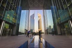 DIFC (YouSef RaySis) Tags: dubai center emirates financial