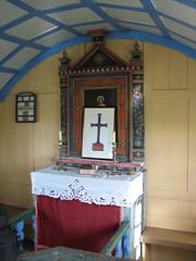 Altarið í Tungufellskirkju afmæli 2006
