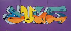 Den Haag Graffiti : DUCE (Akbar Sim) Tags: holland netherlands graffiti nederland denhaag thehague duce zuiderpark agga akbarsimonse akbarsim