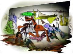 La Modelo y mi Guernica (Jocarlo) Tags: portrait abstract art ngc retratos ciudades photowalk toros imagination abstracto malaga texturas pueblos melilla nationalgeographic specialeffects afotando irreales flickraward sharingart montajesfotogrficos photowalkmelilla crazygeniuses pwmelilla virgiliocompany jocarlo flickrstruereflection1 flickrclickx adilmehmood