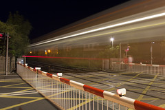 Duke Street Crossing (Arron Wright) Tags: longexposure night train liverpool nikon southport d3200