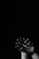 Grasp (Molly Voigt) Tags: blackandwhite white black college canon studio 50mm hands fingers australia melbourne pic victoria photographic preston imaging angst canon50mm photographicimagingcollege 60d canon60d