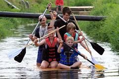 Crazy Raft Race _ 128 (lens buddy) Tags: uk england wet somerset rafting raft watersports fancydress cameraclub summergames langport thorney canoneosdigital crazyrafting lowlandgames2014