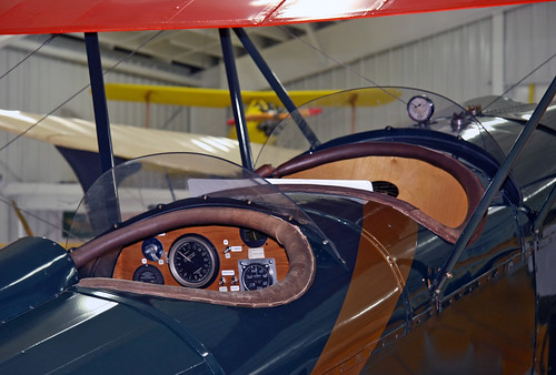 General Aircraft Company Thunderbird W-14 (NC5830) Cockpit