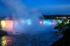 Niagara Falls - 191 (www.bazpics.com) Tags: bridge light usa newyork ontario canada color colour fall nature water night river landscape flow niagarafalls boat waterfall rainbow scenery ship natural drop tourists niagara falls american barryoneilphotography