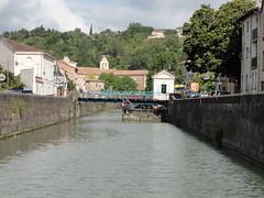 "Moissac, Drehbrücke • <a style=""font-size:0.8em;"" href=""http://www.flickr.com/photos/10582695@N03/14678309448/"" target=""_blank"">View on Flickr</a>"