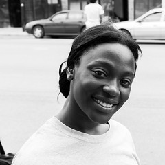 G Girl (deanfuller2) Tags: street portrait blackandwhite woman chicago photography illinois unitedstates sony streetphotography workshop a77 ktown westgarfieldpark