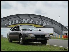 LE MANS (andre2cv87) Tags: france gris 1982 citroen cx mans le 1981 pont athena bugatti circuit 72 pneu dunlop 2014 sarthe squale eurocitro