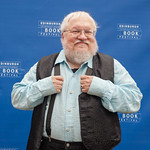 George R R Martin at the Edinburgh International Book Festival