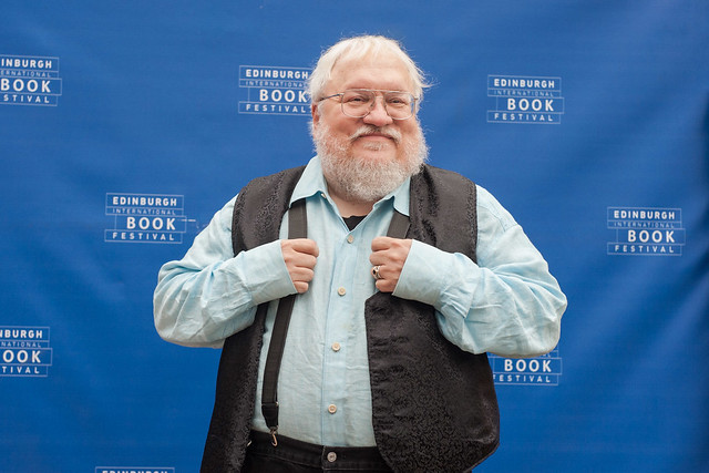 George R R Martin at the Edinburgh International Book Festival