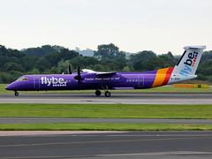 G-JEDV DHC-8Q 402 Flybe (PlanecrazyUK) Tags: man manchester egcc flybe dhc8q402 gjedv