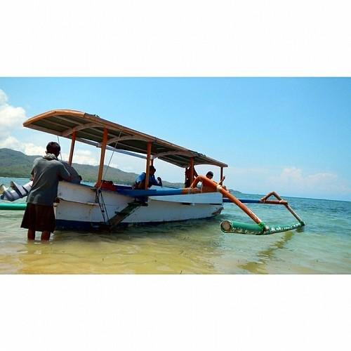 GILI NANGGU SERIES  READY TO LEFT GILI TANGKONG ...  at Gili Tangkong Island, Sekotong, West Lombok, NTB, INDONESIA   #love #TagForLikes #TFLers #likesforlikes #explorelombok #lomboknesia #lombok #ilovelombok #lombokkita #contestgram #instabpn @instabpn #