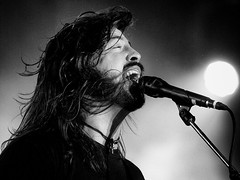 Dave Grohl (Subdive) Tags: blackandwhite bw music man rock rockstar sweden stockholm foofighters concertphotography davegrohl wheretheactionis