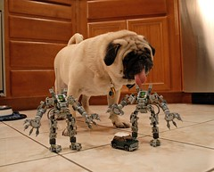 Pug + EXOSUIT + Mini (-Cooper-) Tags: lego pug mini exosuit
