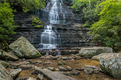 Benton Falls (createthisphoto) Tags: county forest landscape waterfall long exposure tennessee falls national cherokee 24mm ocoee chilhowee polk benton pce d810