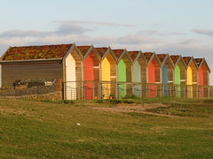 Blyth Huts (spaceyt29) Tags: colour grass huts blyth