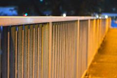 Bridge (villadelrefugio) Tags: bridge lamp lights evening focus warm glow shadows dof depthoffield lamplights