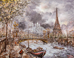 IMG_2853 (Cachouman) Tags: paris notredame pont peintre