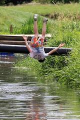 Crazy Raft Race _ 104 (lens buddy) Tags: uk england wet somerset rafting raft watersports fancydress cameraclub summergames langport thorney canoneosdigital crazyrafting lowlandgames2014