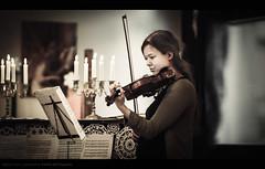 Russian Private Concerto (Sylvain_Latouche) Tags: music ambientlight pregnant concerto violon nikond800 sylvainlatouche