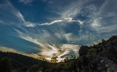 Fras, Nubes al atardecer (Kasta) Tags: espaa es burgos frias fras otraspalabrasclave