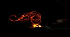 chez lounge (warpig corp) Tags: camping camp orange phoenix wales bench fire flames lounge campfire flame curve gwynedd trawsfynydd wirewool frenchcurves chezlounge warpigcorp caeadda welshcurves